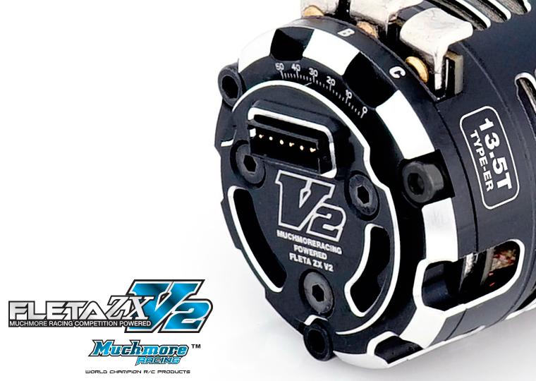 Muchmore FLETA ZX V2 17.5T & 13.5T ER Spec Brushless Motors