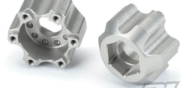 Pro-Line 6×30 to 17mm Aluminum Hex Adapters