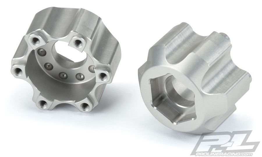 Pro-Line 6x30 to 17mm Aluminum Hex Adapters