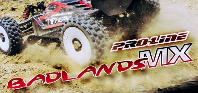 Pro-Line Badlands MX All Terrain 1:8 Buggy Tires [VIDEO]