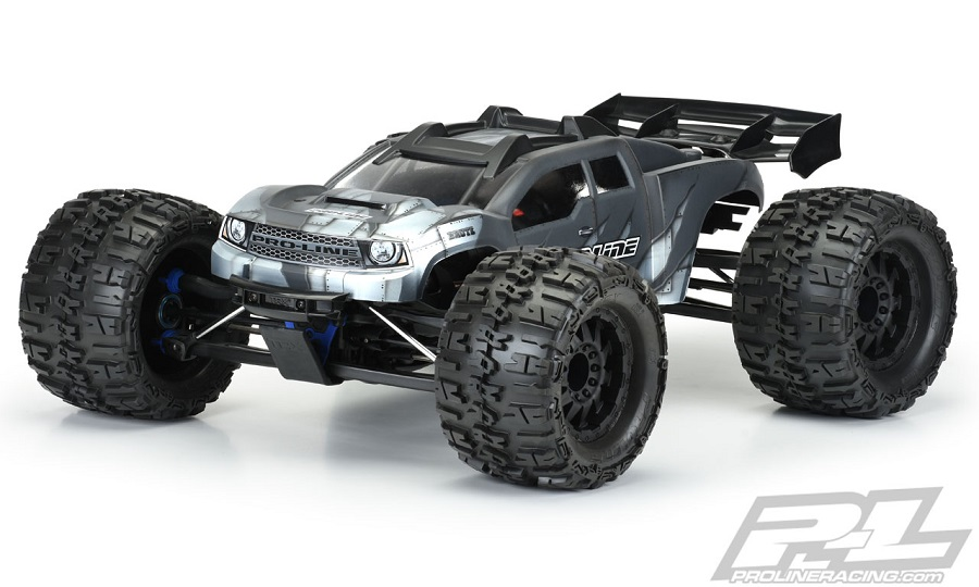 Pro-Line Pre-Cut Brute Clear Body (E-REVO® 2.0)