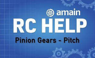 R/C Help: Pinion Gears – Gear Pitch [VIDEO]