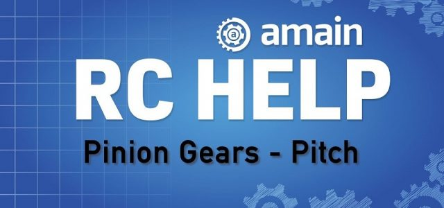 R/C Help: Pinion Gears – Gear Pitch [VIDEO]