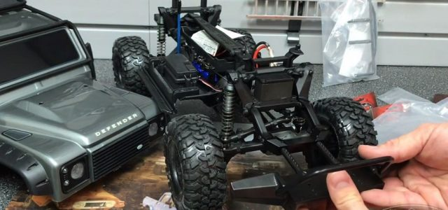 RC4WD Bumper Mount Conversion For The Traxxas TRX-4 [VIDEO]
