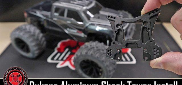 Redcat Racing Dukono Aluminum Shock Tower Option Part Install [VIDEO]