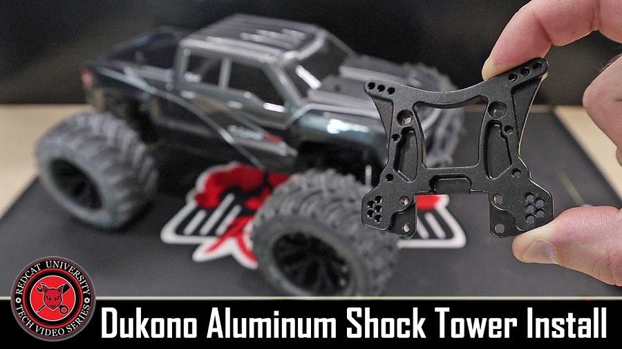 Redcat Racing Plastic and Aluminum Rear Shock Tower