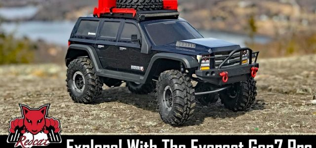 Redcat Racing Everest Gen7 Pro RC Scale Crawler Off-Road Action [VIDEO]