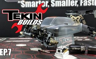 Tekin Builds Ep. 7 – TLR 8IGHT-X E 1:8 Buggy Build [VIDEO]