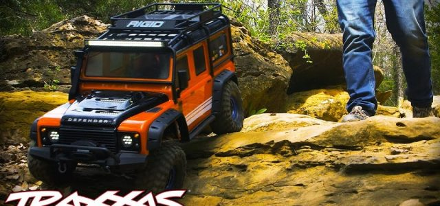 Traxxas Defender TRX-4 Ultimate Trail Truck Build [VIDEO]