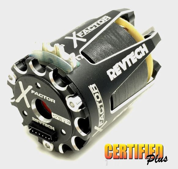 Trinity Expands Revtech Certified Plus X-Factor SPEC Brushless Motor Line