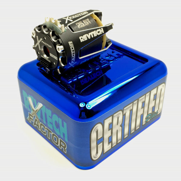 Trinity Revtech Certified Plus X-Factor 25.5T SPEC Brushless Motor