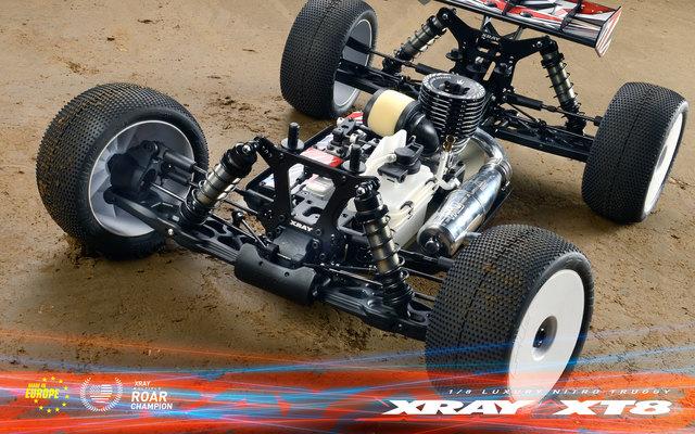 XRAY XT8 1/8 Nitro 4WD Truggy