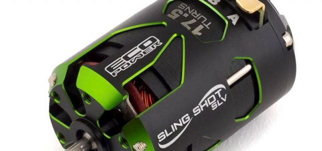 "EcoPower ""Sling Shot SLV"" Sensored Brushless 17.5t Motor"