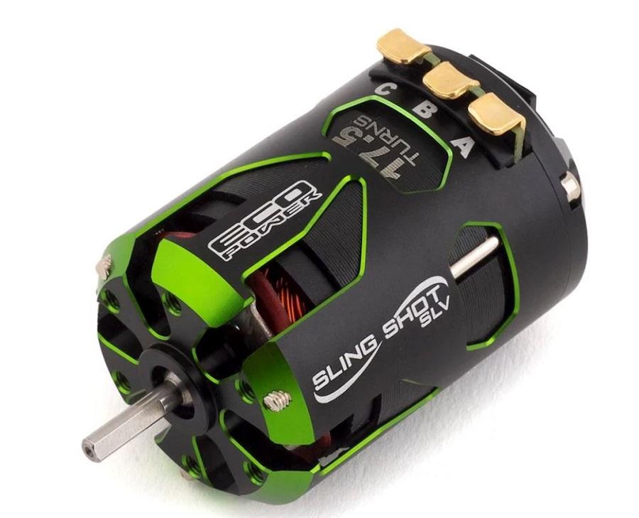 """EcoPower """"Sling Shot SLV"""" Sensored Brushless 17.5t Motor"""