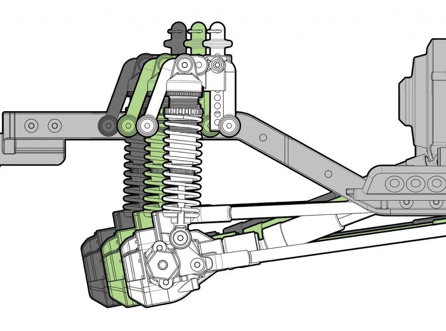 Element RC Enduro Trail Truck, Builders Kit
