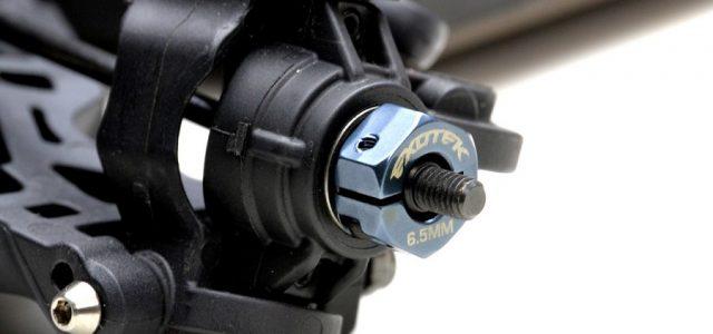 Exotek 6.5 & 7.5mm Hex Sets For The Tekno EB410 & ET410