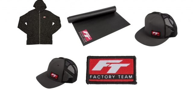 Factory Team Logo Pit Mat, Patch & Apparel