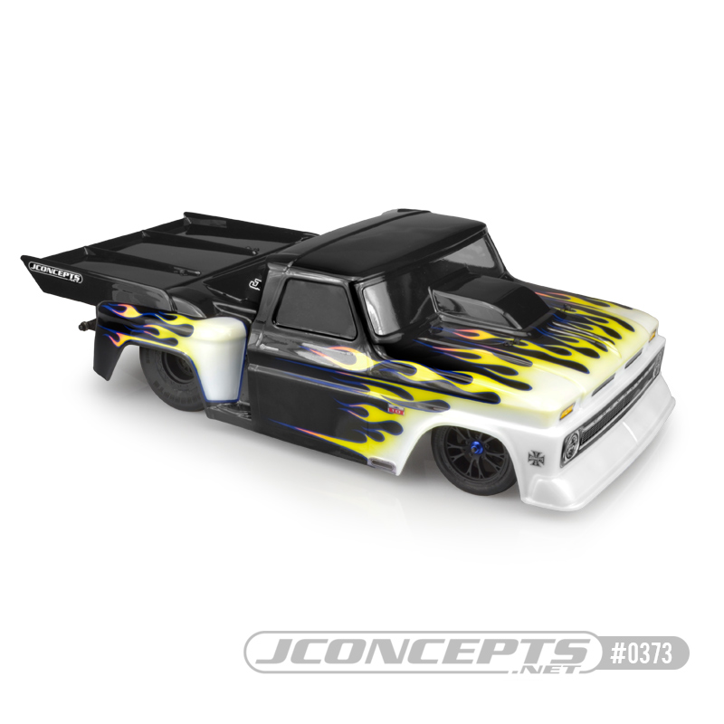 JConcepts 1966 Chevy C10 Step-Side Clear Body