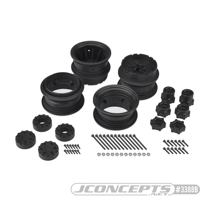 "JConcepts 2.6"" Krimson Dually Wheels"