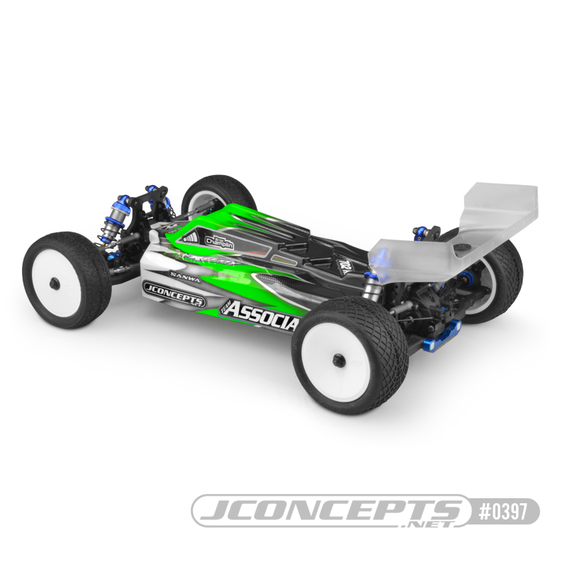 JConcepts F2 Clear Body For The B74