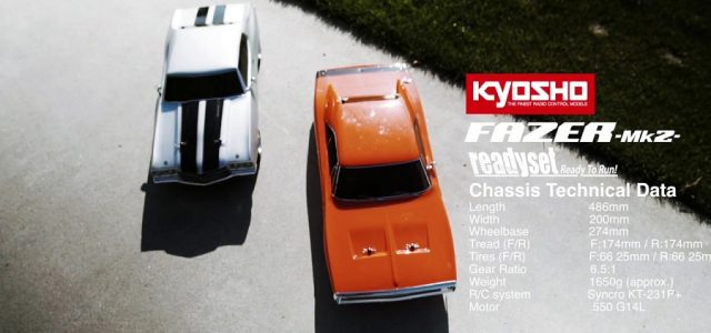 Kyosho Fazer Mk2 Movie [VIDEO]