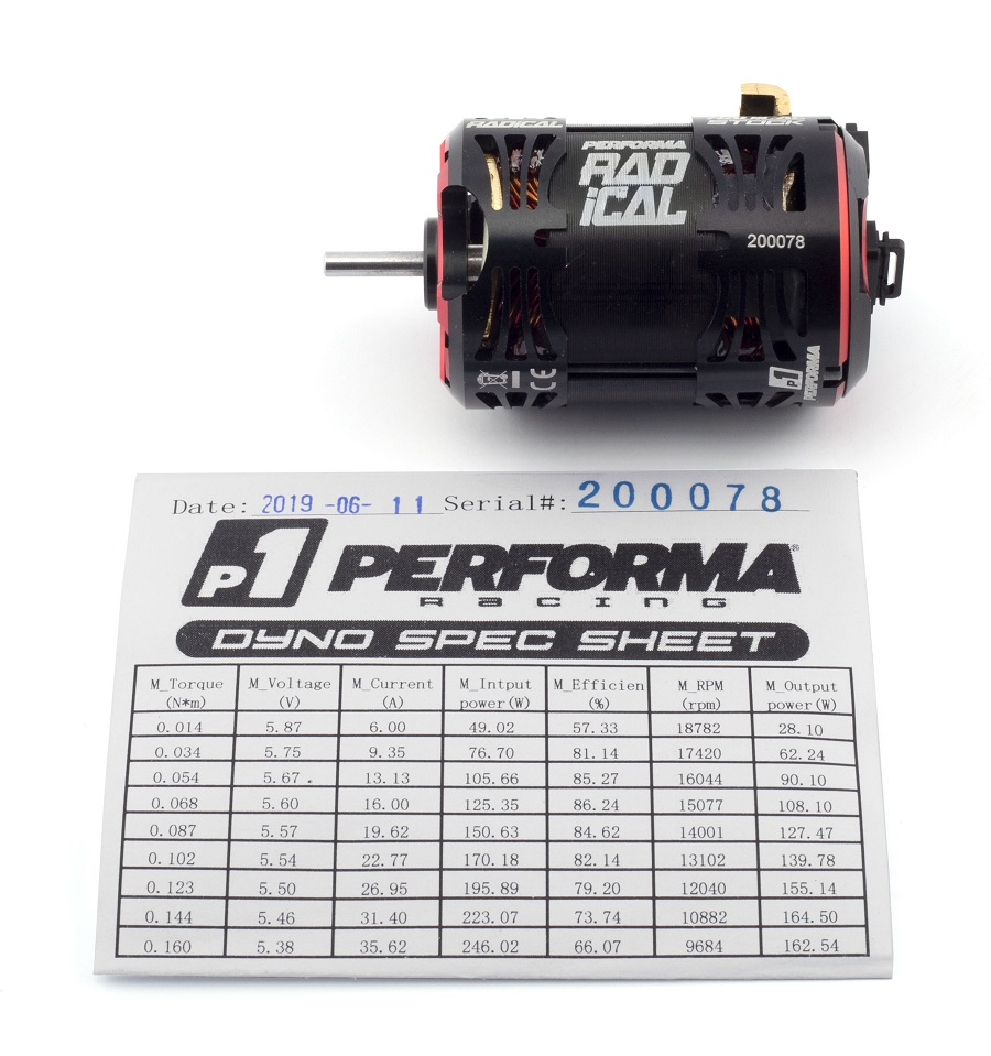 Performa Racing Qualified Stock Motors
