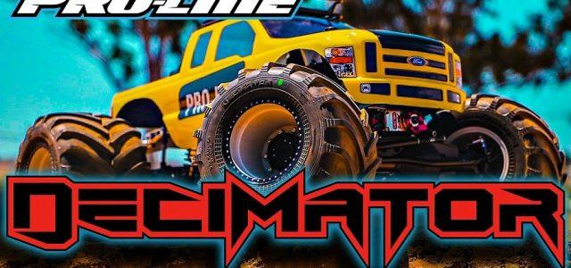 Pro-Line Decimator 2.6″ Solid Axle Monster Truck Tire [VIDEO]