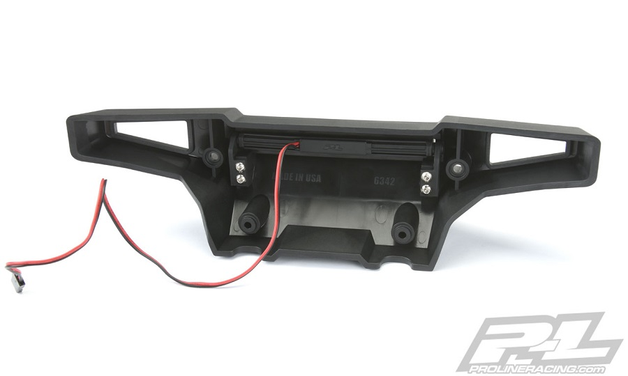 "Pro-Line PRO-Armor Front Bumper With 4"" LED Light Bar Mount For The Traxxas X-MAXX"