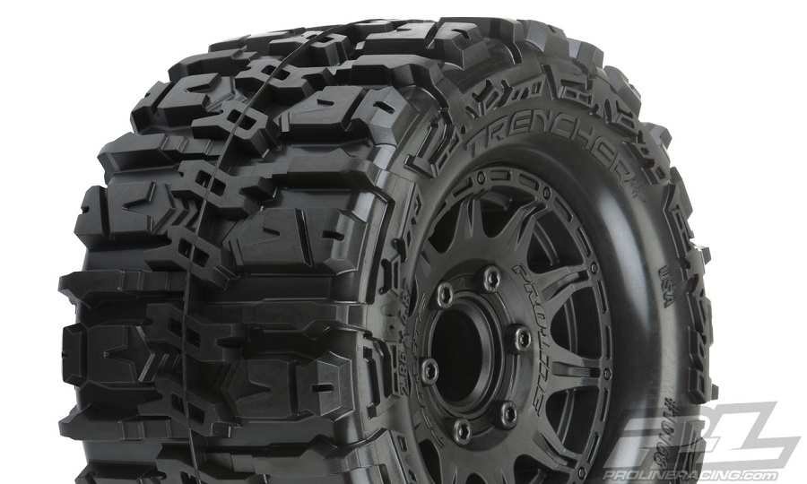 "Pro-Line Trencher HP 2.8"" All Terrain Belted Truck Tires"