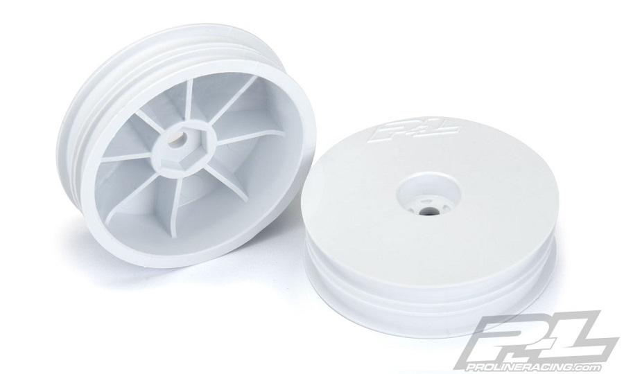 Pro-Line Velocity Narrow 2.2 Hex Carpet Front Wheels