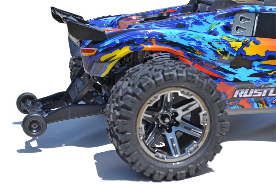 RPM Wheelie Bar Mount For The Traxxas Rustler 4x4