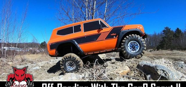 Redcat Racing Everest Gen8 Scout II RC Scale Crawler Off-Road Action [VIDEO]