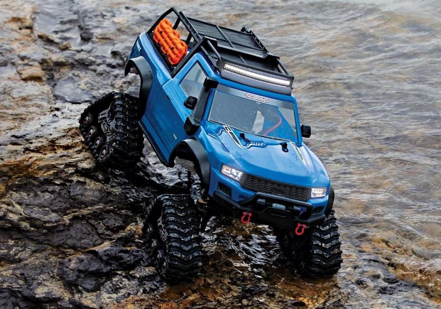 Traxxas TRX-4 Sport With All-Terrain Traxx RTR