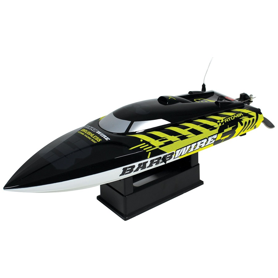 Atomik Barbwire 3 Brushless RC RTR Racing Boat