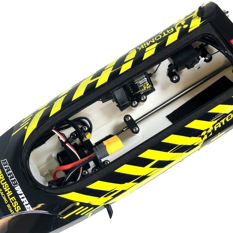 Atomik Barbwire 3 Brushless RC RTR Racing Boat