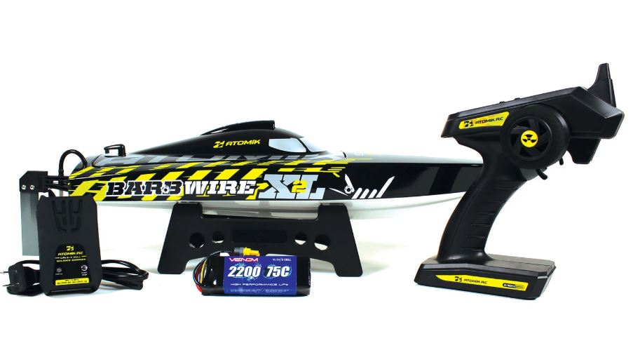 Atomik Barbwire XL 2 RTR Brushless 24 RC Racing Boat