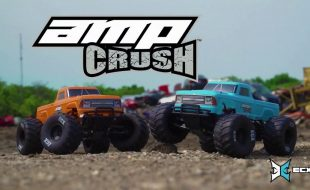 ECX 1/10 Amp Crush 2WD Monster Truck Brushed RTR [VIDEO]