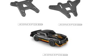 JConcepts 1978 Chevy Camaro Street Stock Clear Body & Shock Towers