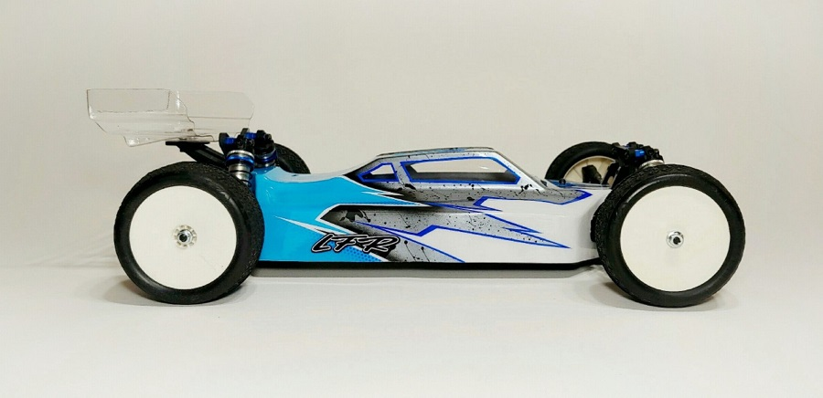 Leadfinger Racing A2 Tactic Clear Body For The Team Associated B74
