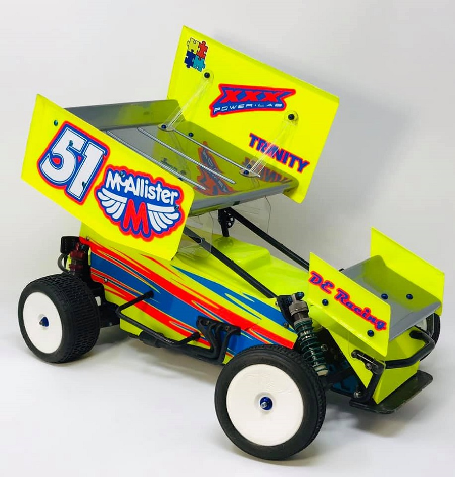 McAllister Racing Placerville Clear Sprint Car Body