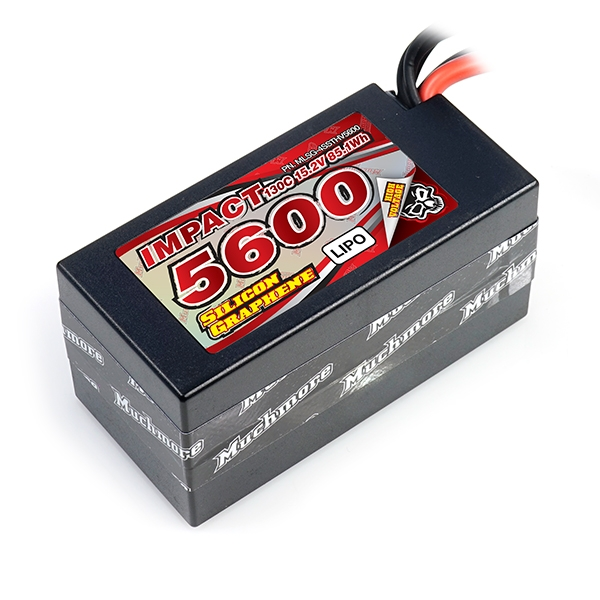 Muchmore 2S Super LCG & 4S Shorty IMPACT Silicon Graphene LiPo Batteries
