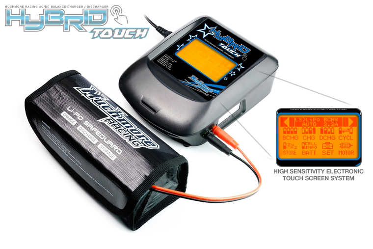 Muchmore Hybrid Touch AC/DC Balance Charger & Discharger