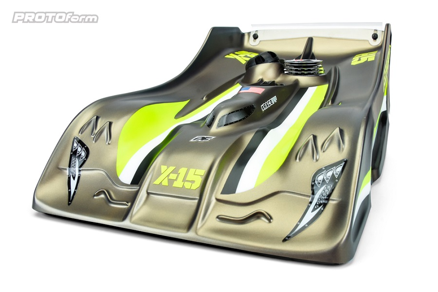 PROTOform X-15 1/8 On-Road Clear Body