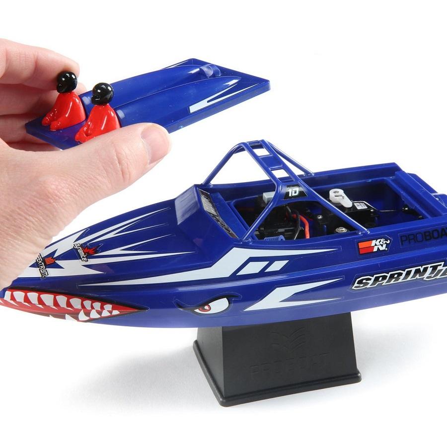 "Pro Boat Sprintjet 9"" Self-Righting Jet Boat Brushed RTR"