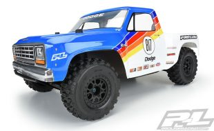 Pro-Line 1984 Dodge Ram 1500 Race Truck Clear Body