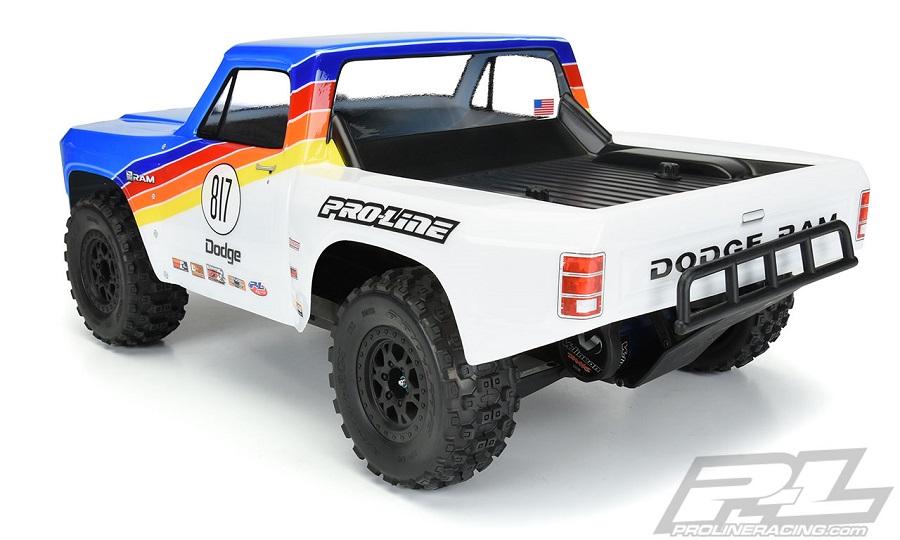 Pro-Line 1984 Dodge Ram 1500 Race Truck Clear Body