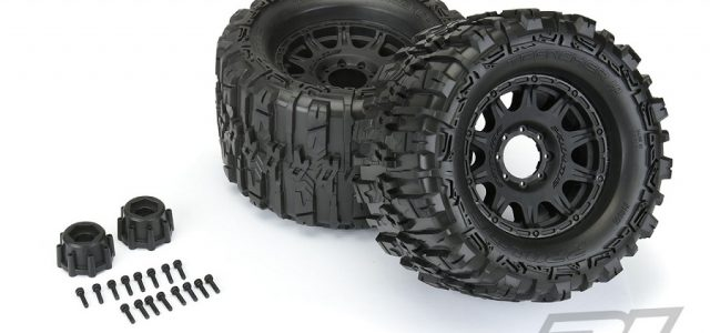 Pro-Line Mounted Trencher HP 3.8″ All Terrain BELTED Truck Tires