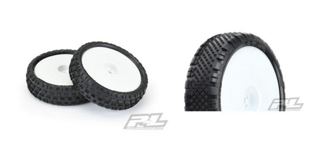 Pro-Line Mounted Wedge Squared & Prism 2.2″ 2WD Off-Road Carpet Buggy Tires