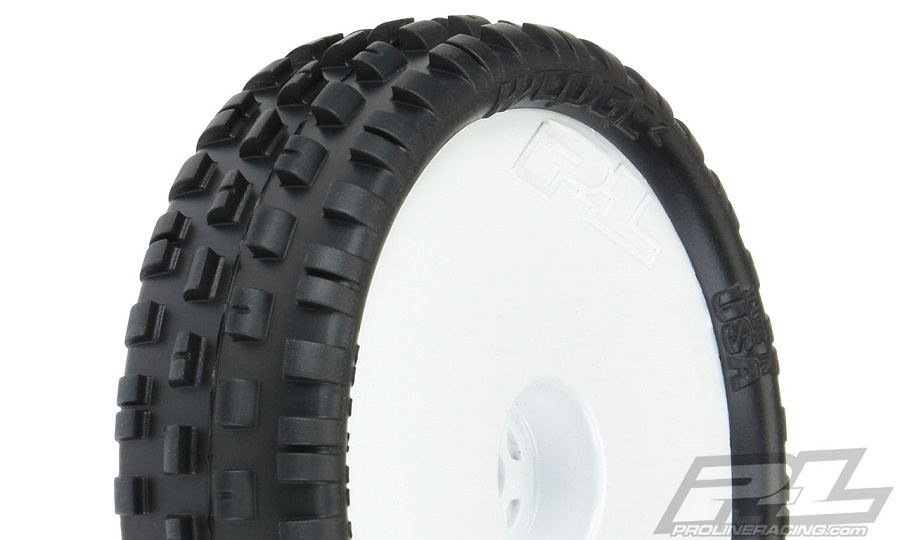 "Pro-Line Mounted Wedge Squared & Prism 2.2"" 2WD Off-Road Carpet Buggy Tires"