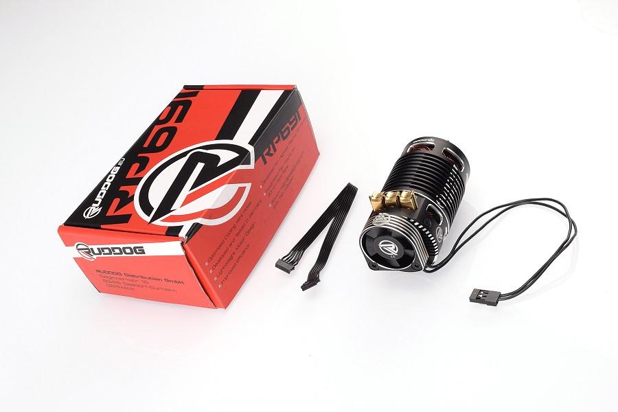 RUDDOG 1/8 Sensored Competition Brushless Motor